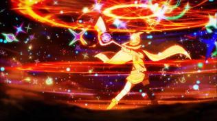 Chaque apparition du sort d'explosions de Megumi est l'occasion d'un festival d'effets numériques assez réussis.